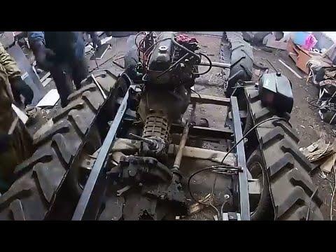 Строю вездеход DIYиз хлама мини Витязь самодельный