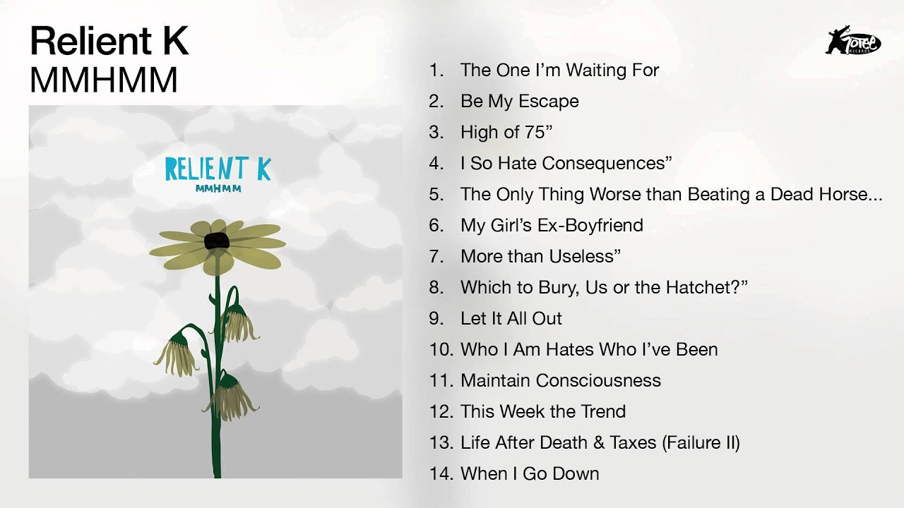 relient k mmhmm full album audio youtube
