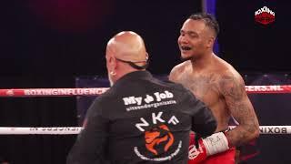 Hele Wedstrijd Boxing Influencers Greg vs Daryl