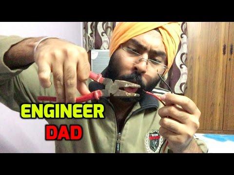 Engineer Dad   Funny comedy vine   Harshdeep Ahuja V21 ...