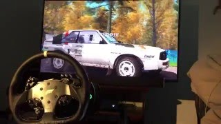 dirt rally fanatec clubsport v2   audi sport quattro rallye