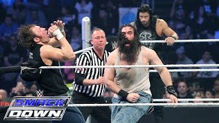 Roman Reigns & Dean Ambrose vs. Luke Harper & Seth Rollins: SmackDown, April 23, 2015