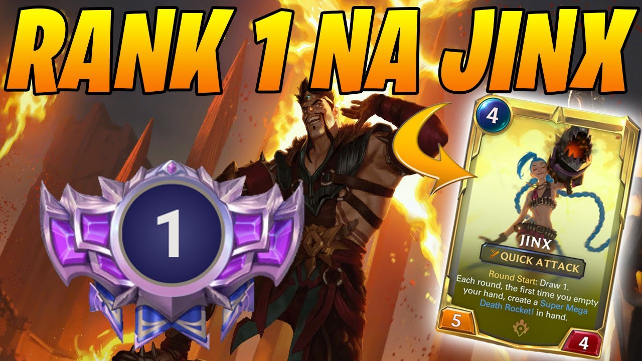 Rank 1 NA Jinx Draven Discard Flood!   Monuments of Power   Controltheboard