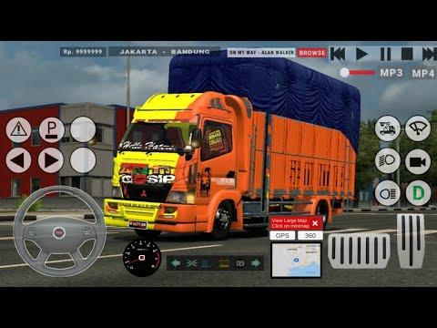 Wooww!! Update Terbaru IDBS Truck Simulator! Control Makin Baik Juga Ada Fitur Radio Dan TV!