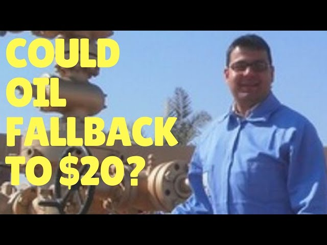 Could the crude oil price fall back again to $20?