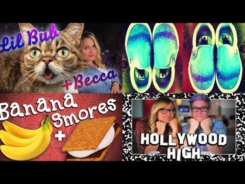 This Week on PSGG: More Lil Bub Footage, DIY Ombré Shoes, Banana Boat S'mores, and More!