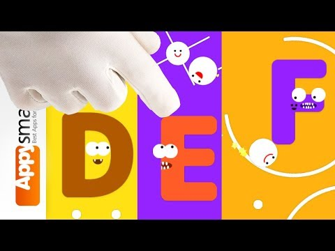 ABC Monsters - educational game video for kids part 2