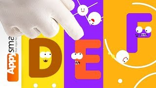 Endless Pinball Letter Monster Puzzles - Fun Game Video for older kids
