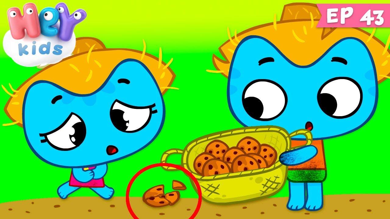 Kit și Keit: Doar deserturi | Desene animate cu prajituri | HeyKids