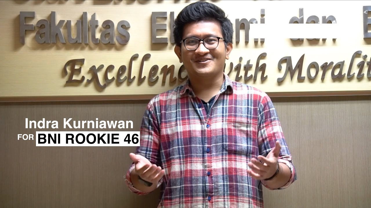 this is me indra kurniawan for bni rookie 46 youtube