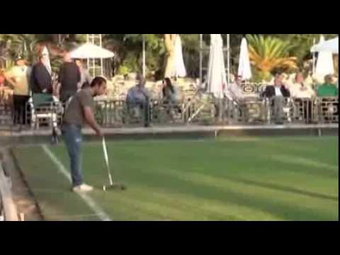 Golf Croquet Egyptian Open Singles Final 2013. Game 1.