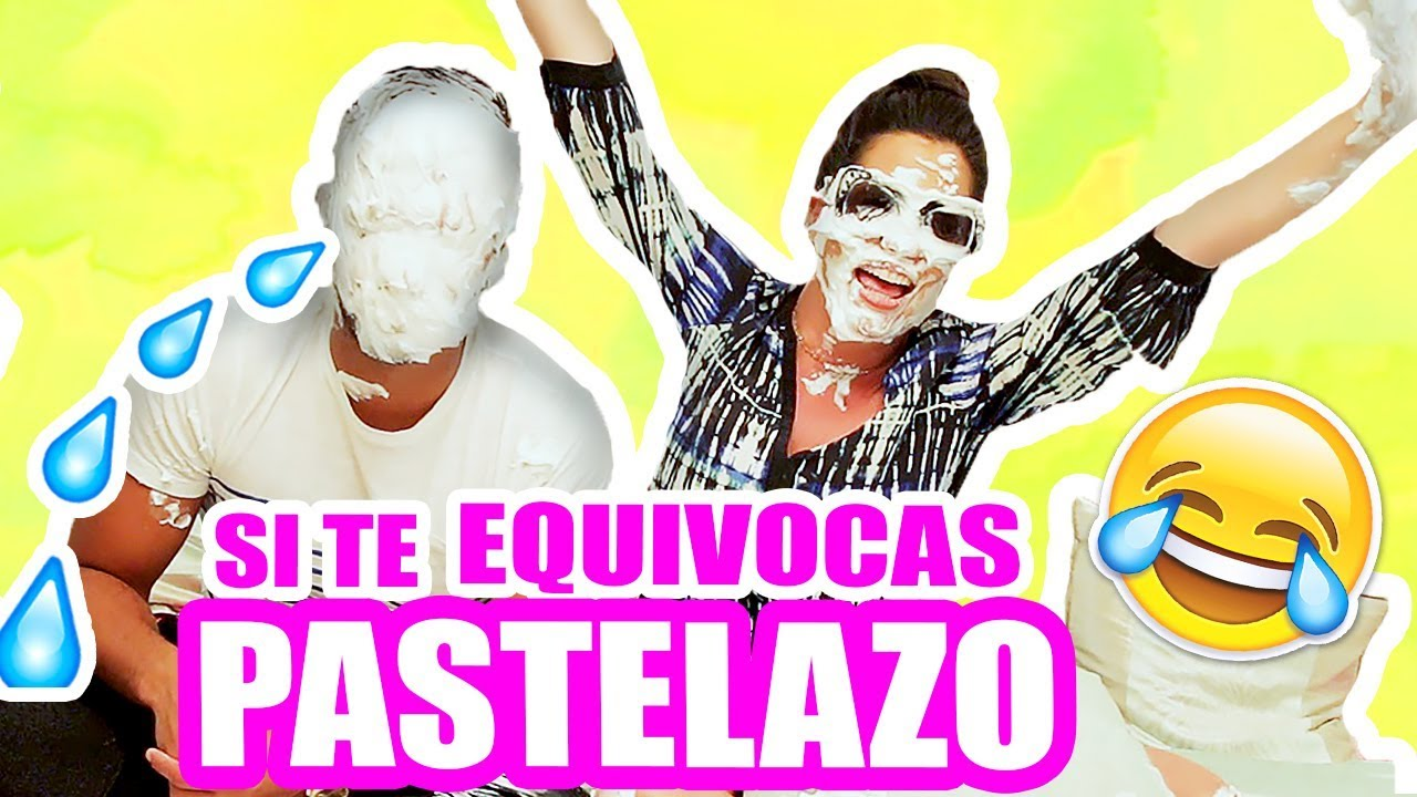 PASTELAZO en la CARA! RETO Completa la Frase con Nana y Puchi ♥ El Mundo de Camila Guiribitey