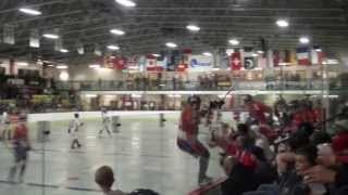 World Ball Hockey Championship Canada vs Czech Republic 2013