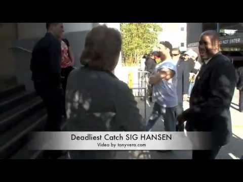 Deadliest Catch SIG HANSEN Talks about why there  are no  blacks or Latins on the