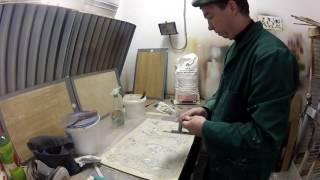 ГЛИНЯНАЯ декоративная штукатурка своими руками(Всем привет добро пожаловать на новый мастер-класс от Олега Антонова