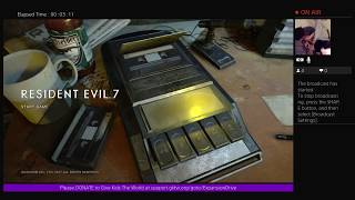 RESIDENT EVIL 7 VR (Rated M) - Gaming For 24 Hours Benefiting GKTW
