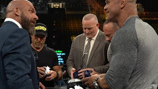 Triple H honors DX with Hall of Fame cufflinks: Triple H's Road to WrestleMania
