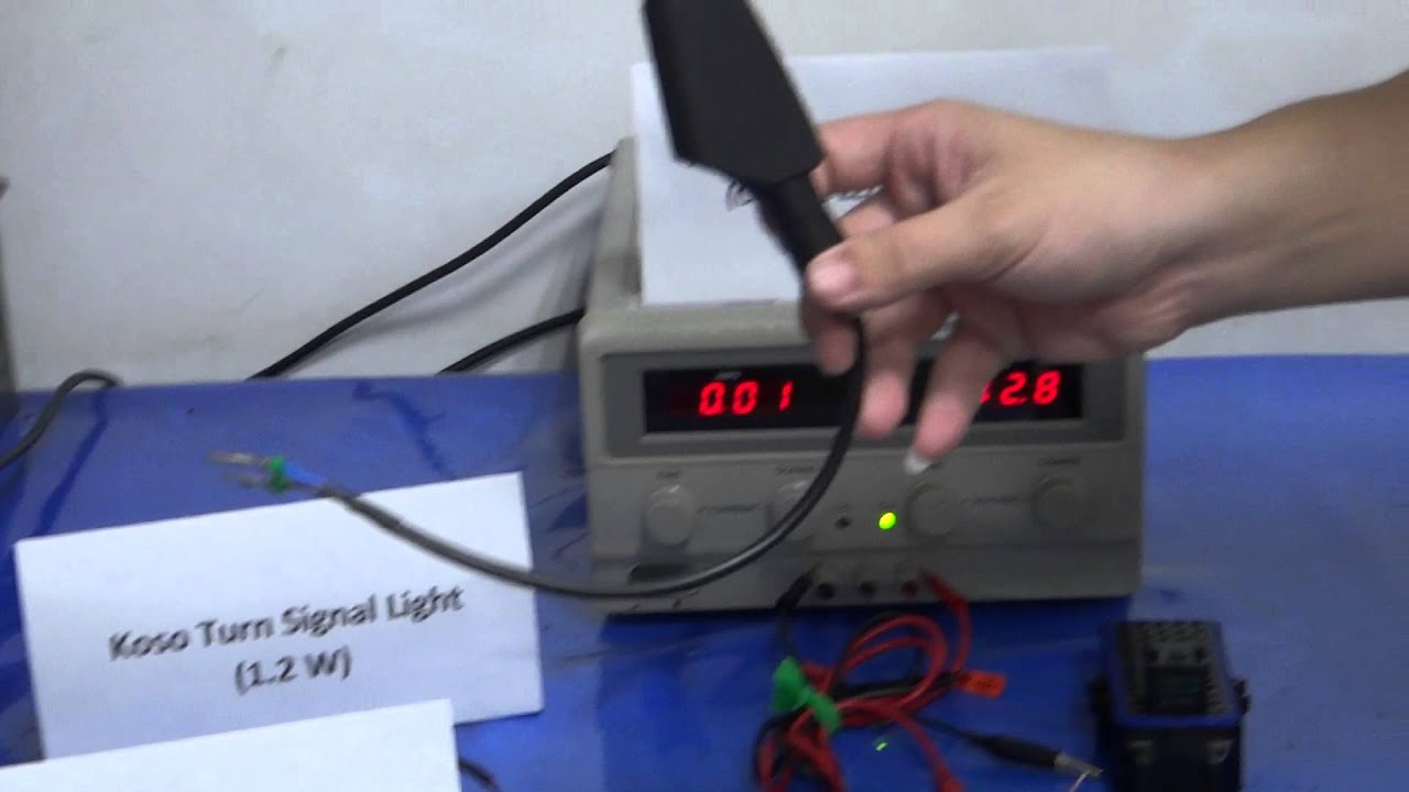 Testing For Flasher Relay Turn Signal Light Youtube 5 Pin With Fuse