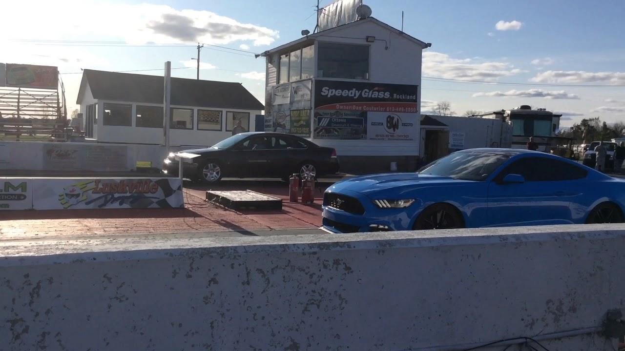 Impala V6 vs Mustang, vs Camaro V6  Best 1320 foot ever