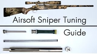 How to Upgrade an Airsoft Sniper - Tuning Guide thumbnail