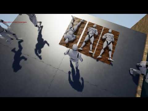 UE4 Animationen Mannequin