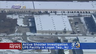 BREAKING NEWS: Shots Fired, 2 Hostages Taken At UPS Facility In Logan Township
