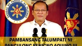 President Benigno Aquino III Addresses The Filipino Nation on Pork Barrel & DAP | October 30, 2013