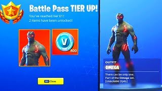 FORTNITE UNLOCKING OMEGA sur un DUO WIN Tier 100 PS4 PRO SEASON 4