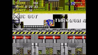 "Sonic 2 2013 - Chemical Plant 1: 20""83 (Speed Run)"