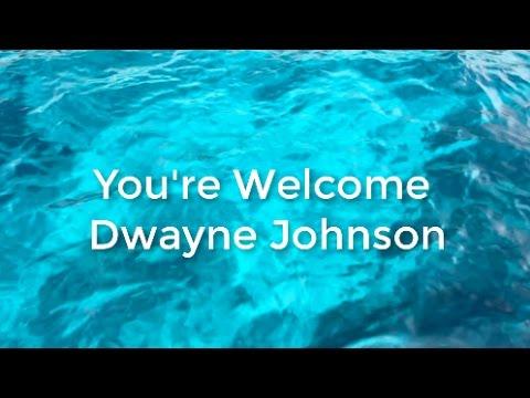 Moana You're Welcome - LYRICS