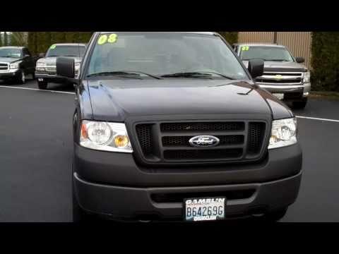 2008 Ford F150 Extended Cab 4X4 XL Black Art Gamblin Motors Tim Smith 11071A