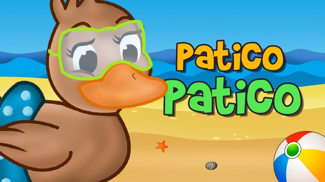 Patico Patico Color De Cafe Cancion Infantil Youtube