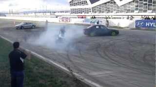 BMW 535  AND MOTO CRASH  BMW  M3  & BMW 535 DRIFTING