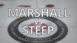 2018 ONT U21 Championships - MARSHALL vs STEEP