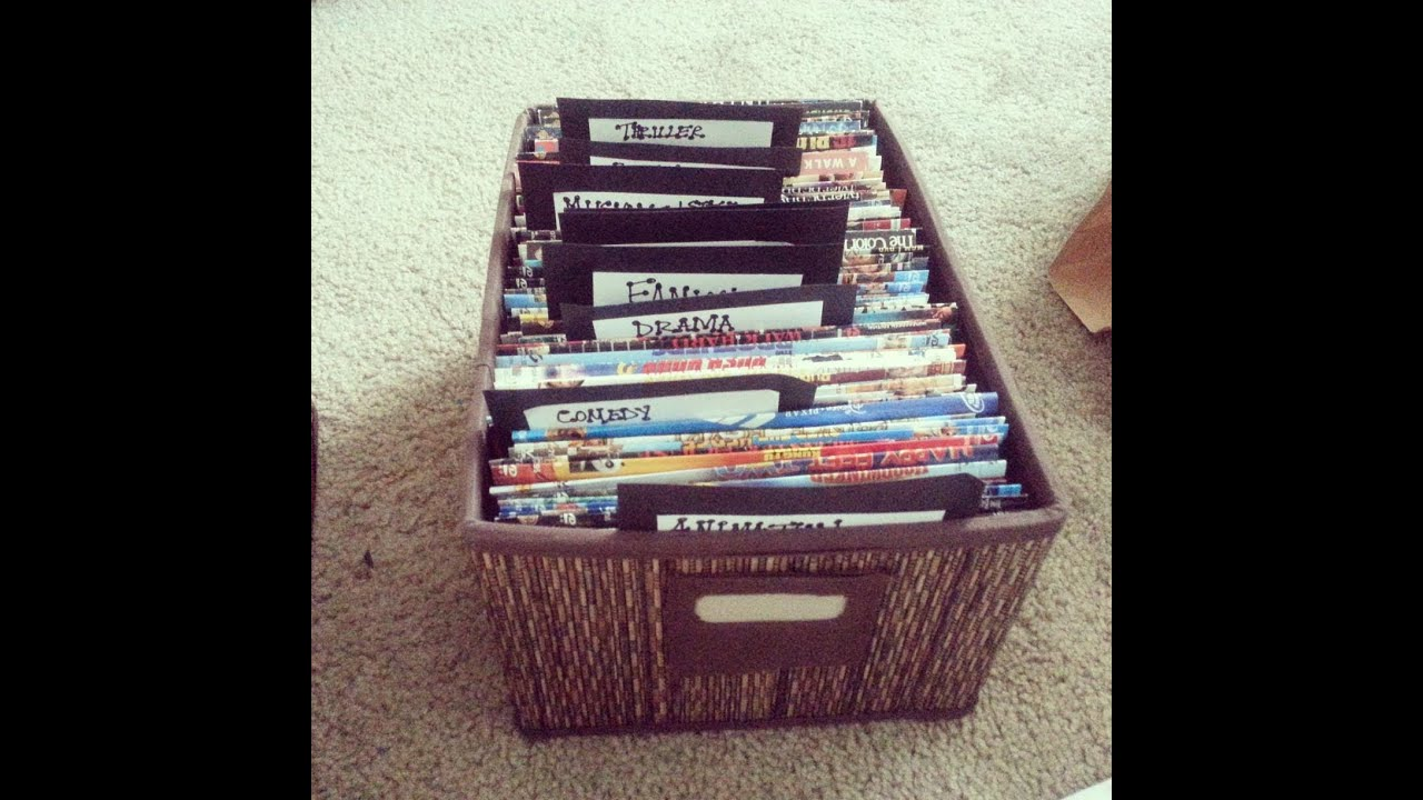 Dvd Storage Ideas diy dvd sleeves & storage - youtube
