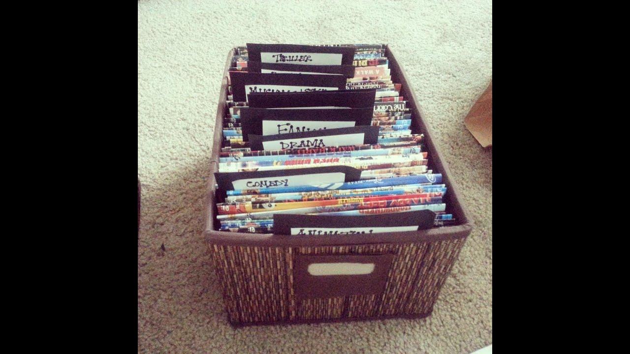 Diy Dvd Sleeves & Storage