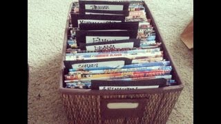Diy Dvd Sleeves & Storage