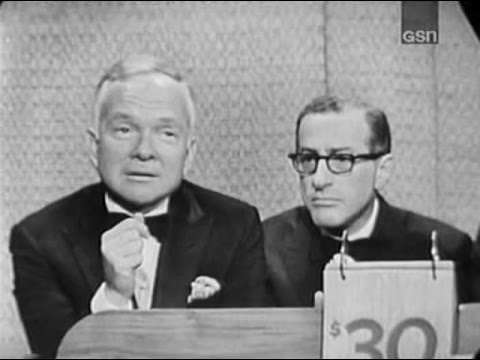 What's My Line? - Mark Goodson & Bill Todman; Martin Gabel [panel] (Dec 22, 1963)