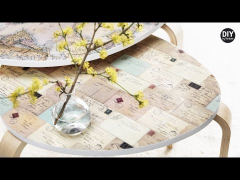 Welp DIY by Panduro: Home Deco by Me, Decorate furniture with decoupage DP-15