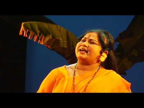 Smt.Bhagyashree as Sita in Prachanda Ravana Kannada Drama