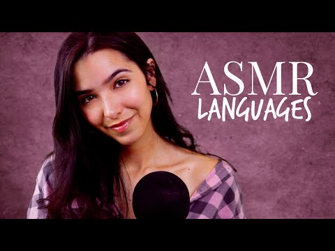 ASMR Different Languages Whispering 2 (Russian, German, Korean, Spanish, French, Greek...)