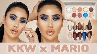 KKW BEAUTY x MARIO EYESHADOW PALETTE - MAKEUP TUTORIAL | BRITTANYBEARMAKEUP