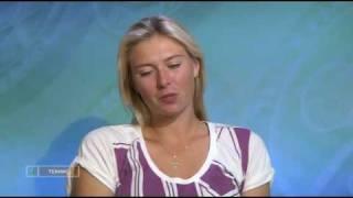 Мария Шарапова - интервью (на Уимблдон-2009)
