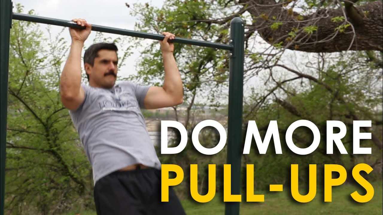 How do i do more pull ups