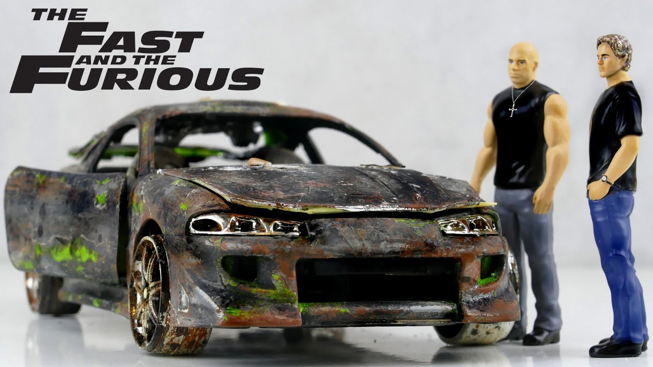 Restoration The Fast and the Furious Mitsubishi Eclipse Brian O'Conner's and Dom Toretto's car
