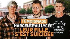TÉMOIGNAGE - HARCELÉE AU LYCÉE, LEUR FILLE S'EST SUICIDÉE