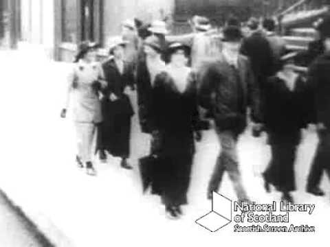 A Stroll Along Great Western Road, Glasgow In 1915
