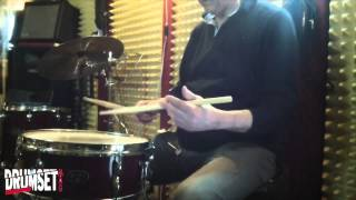 Marco Volpe, Press Roll, Drum Lesson