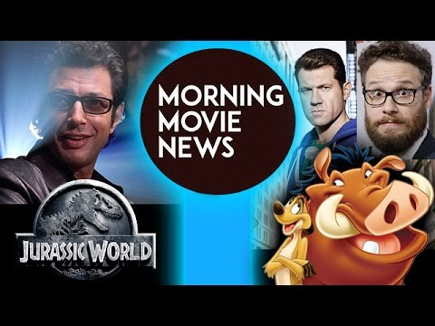 Jeff Goldblum joins Jurassic World 2, Seth Rogen & Billy Eichner are Timon & Pumba in Lion King 2019