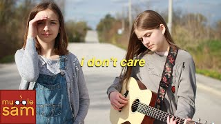 Ed Sheeran & Justin Bieber - I DON'T CARE (Acoustic Guitar Cover) Live Performance